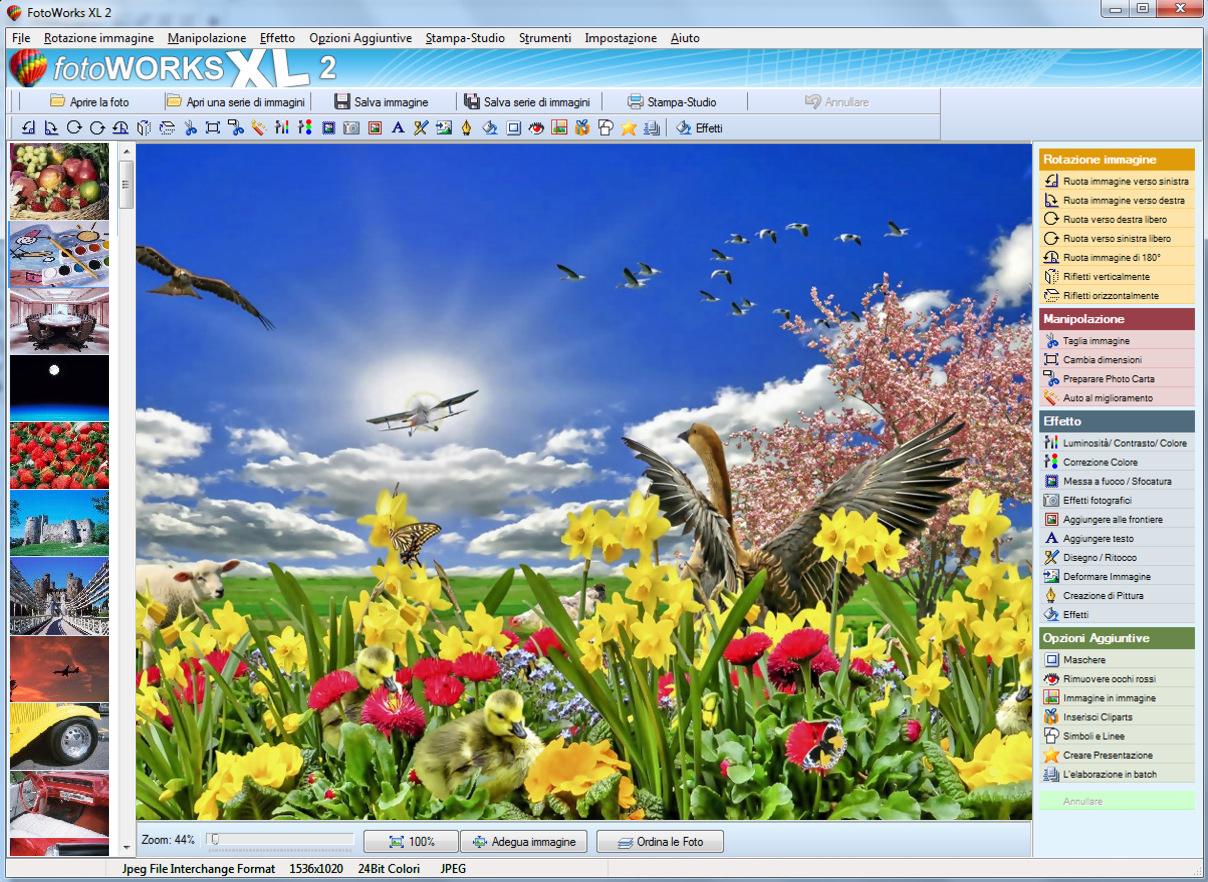 FotoWorks XL, ottima proposta per il fotoritocco digitale Intuitivo e semplice da utilizzare, il programma per modificare foto completo