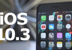 Apple, arriva l'aggiornamento iOS 10.3